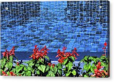 Water And Mirrors Acrylic Print