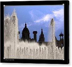 Acrylic Print featuring the photograph Water And Shadows by Pedro L Gili