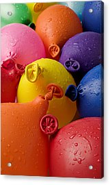 Water Balloons Acrylic Print by Garry Gay