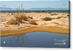 Water By The Ocean Acrylic Print