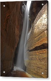 Water Canyon Acrylic Print