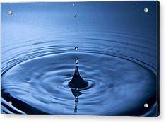 Water Dropp 2 Acrylic Print by Christoffer Rathjen