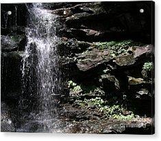 Water Figure Waterfall Acrylic Print