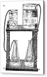 Water Filters, 19th Century Acrylic Print by