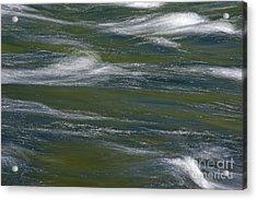 Water Impression 2 Acrylic Print by Catherine Lau