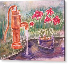 Water Pump Acrylic Print