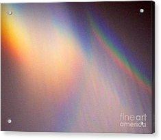 Water Rainbow Acrylic Print by Phyllis Kaltenbach