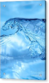 Water Splash Acrylic Print