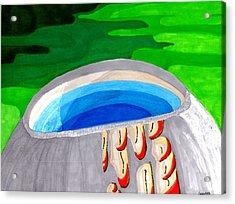 Water Vessel Acrylic Print