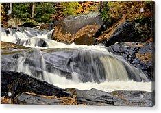 Waterfall Acrylic Print by Douglas Pike