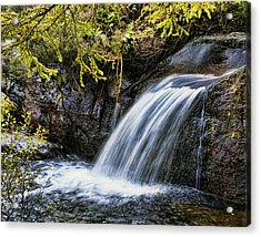 Acrylic Print featuring the photograph Waterfall by Hugh Smith