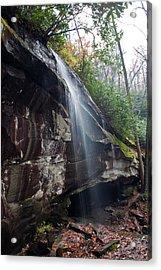 Waterfall Lightly Acrylic Print by Sandi Blood