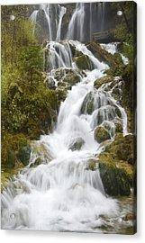 Waterfall Acrylic Print by Ng Hock How
