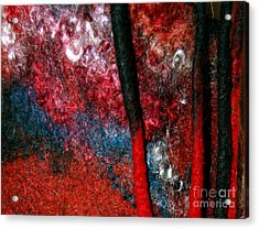 Waterfall Of Dreadlocks  Acrylic Print by Alexandra Jordankova