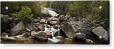 Waterfall Panorama Acrylic Print