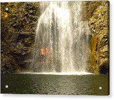 Waterfalls Montezuma Costa Rica Acrylic Print