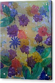 Waterflowers Acrylic Print