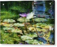 Waterlilies 2 Acrylic Print