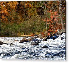 Waters Of Algonquin Acrylic Print