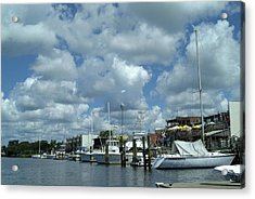 Waterside Acrylic Print by Ralph Jones