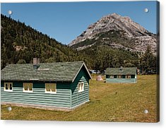 Acrylic Print featuring the photograph Waterton Camp Kitchens by Trever Miller