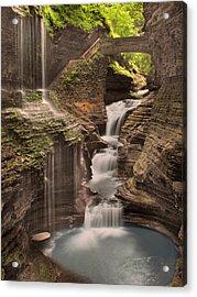 Watkins Glen Gorge Acrylic Print