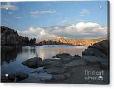 Watson Lake 5  Acrylic Print by Diane Greco-Lesser