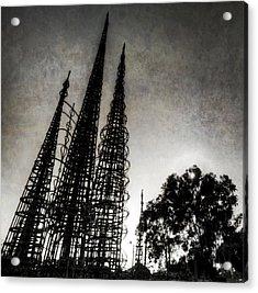 Watts Towers Acrylic Print