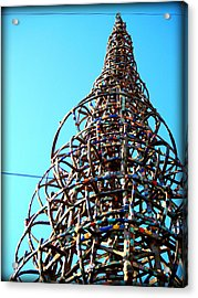 Watts Up Acrylic Print by D Wash