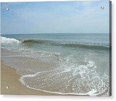 Acrylic Print featuring the photograph Wave by Arlene Carmel