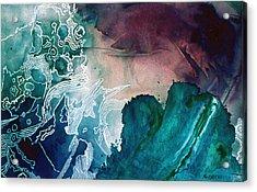 Wave Acrylic Print by Eunice Olson
