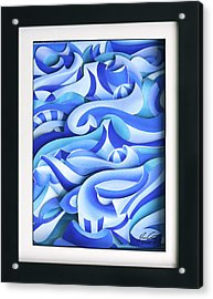Waves 2 Acrylic Print by Jason Amatangelo
