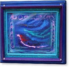 Waves Acrylic Print by Karin Eisermann