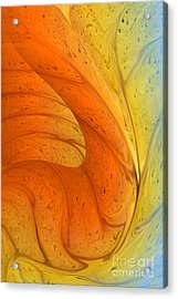 Waves Of Sanity Acrylic Print by Deborah Benoit