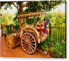 Way Of Life Acrylic Print by Carmen Del Valle