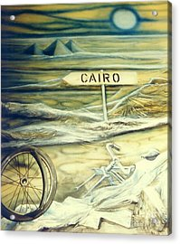 Way To Cairo Acrylic Print
