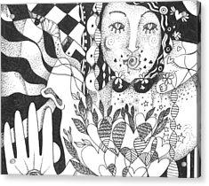 Ways Of Seeing Acrylic Print by Helena Tiainen