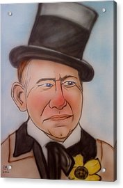 W.c. Fields Acrylic Print by Pete Maier