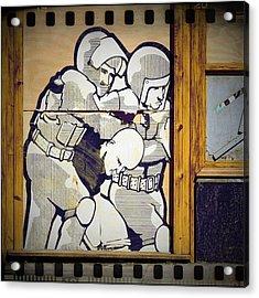 We Are The 99% #graffiti #clubsocial Acrylic Print