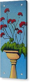 We Lift Our Hands Acrylic Print by Erica Shaw