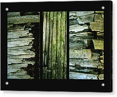 Weathered Acrylic Print by Ann Powell