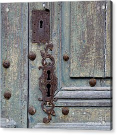 Weathered Acrylic Print by Lainie Wrightson