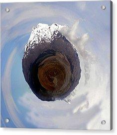 Wee Tongariro Volcanoes Acrylic Print by Nikki Marie Smith