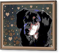 Wee With Love Acrylic Print by One Rude Dawg Orcutt