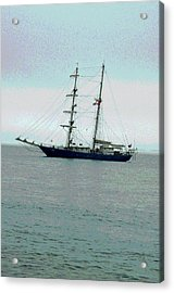 Weighing Anchor II Acrylic Print by Suzanne Gaff
