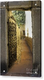 Welcome - Homage To Sven Acrylic Print by David Bearden