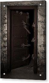 Welcome Acrylic Print by Aljaz Bezjak
