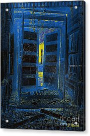 Welcome Home - We Have Been Waiting Acrylic Print by Leslie Revels Andrews
