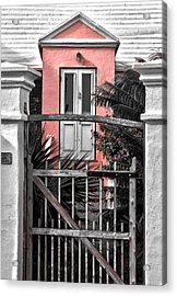 Welcome Acrylic Print by Michael Braxenthaler