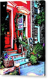 Welcome To Local Color Acrylic Print